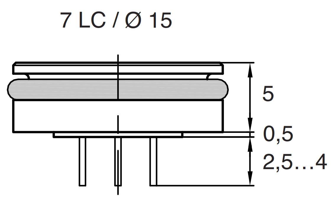 Series 7LC miniature pressure transducer