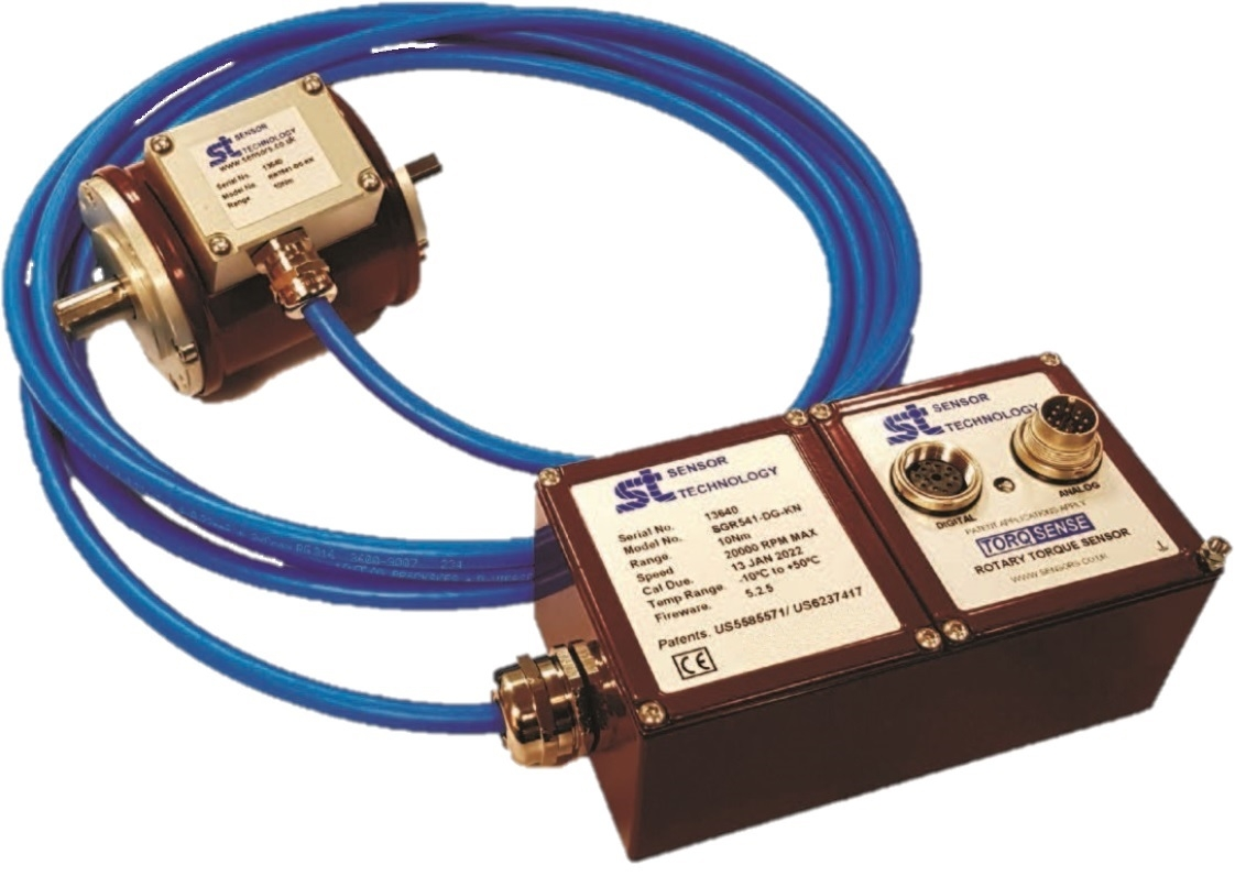 SGR Series Rotary Transducer For Torque, Speed & Power Measurements - External Electronics