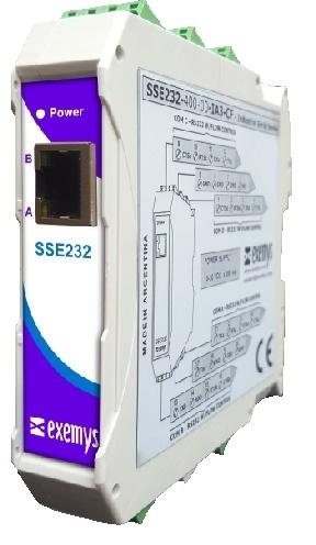 SSE232-IA3 Transparent Serial Server
