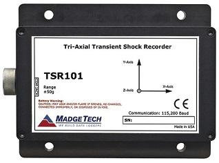 TSR101 Transient Shock Recorder