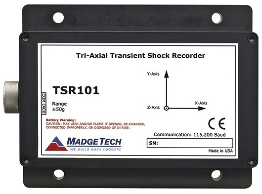 TSR101 Tri-Axial Transient Shock Recorder