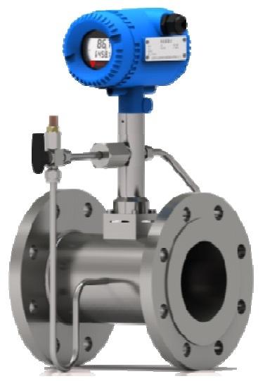 VFM60 Vortex Flow Meter with Pressure and Temperature Sensors