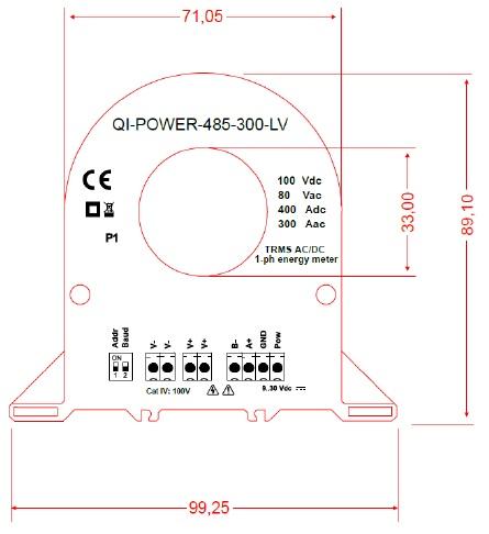 QI-POWER-485-300-LV Network Analyser