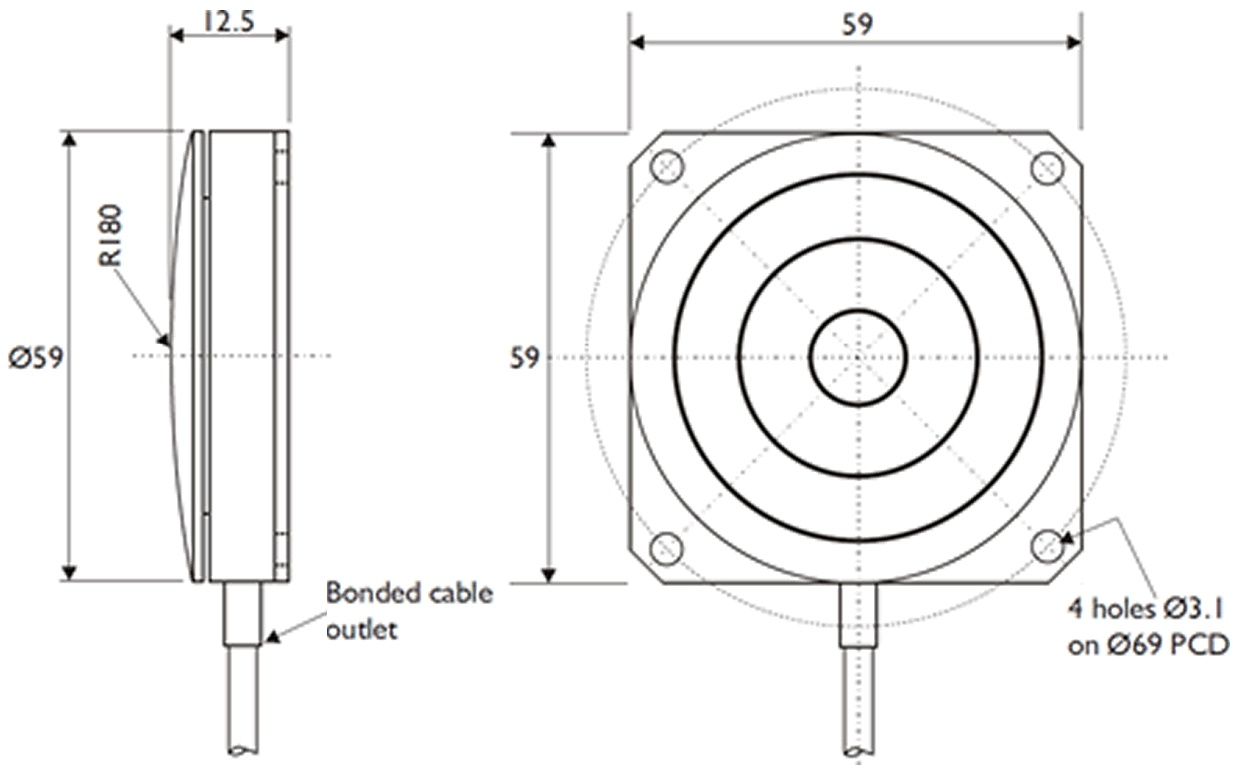 CCGBP Dimensional Drawings