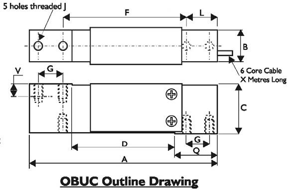 OBUC Dimensional Drawings