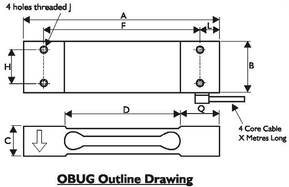 OBUG Dimensional Drawings