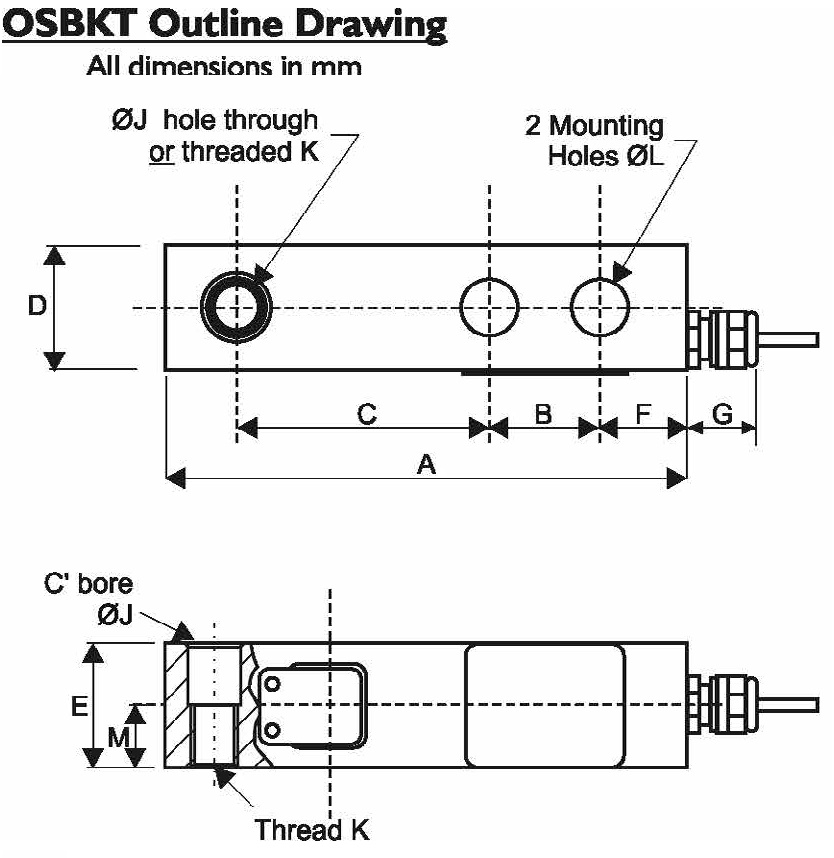 OSBKT Dimensional Drawings