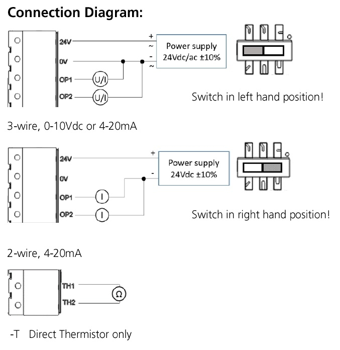 RH-W Connection Diagram