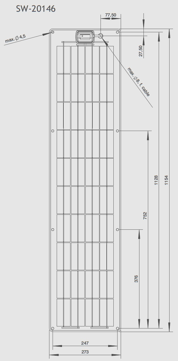 SW-20146 Technical Drawing