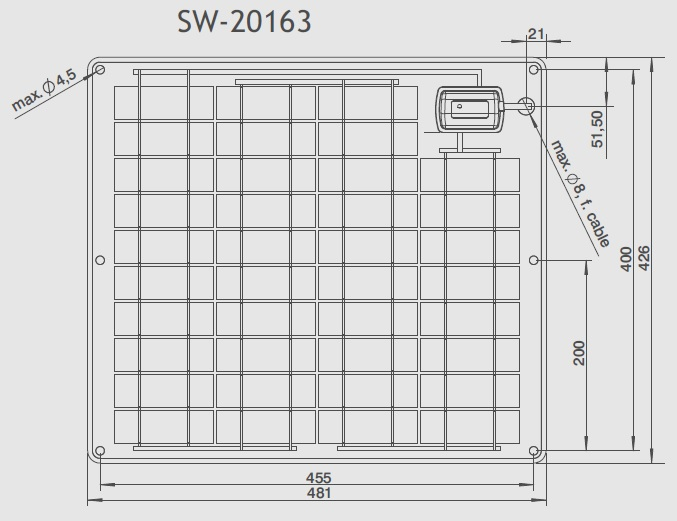 SW-20163 Technical Drawing