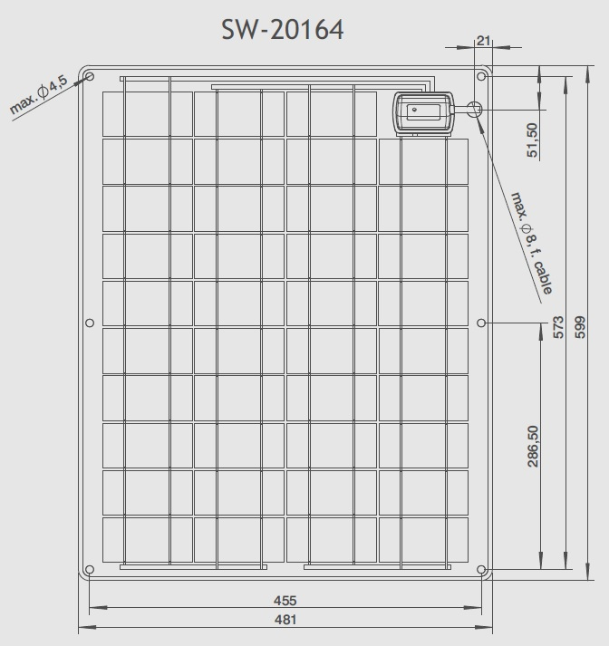 SW-20164 Technical Drawing