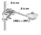 CMP Series Screw-in Mounting Rod
