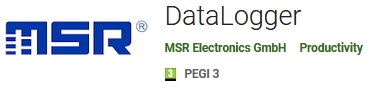 MSR Android App for BLE Data Loggers