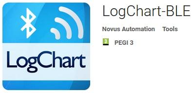 LogChart-BLE Andriod App