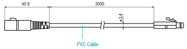 TR-3C30 Extension Cable Drawing