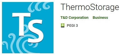 ThermoStorage Android App for TR4 Data Loggers