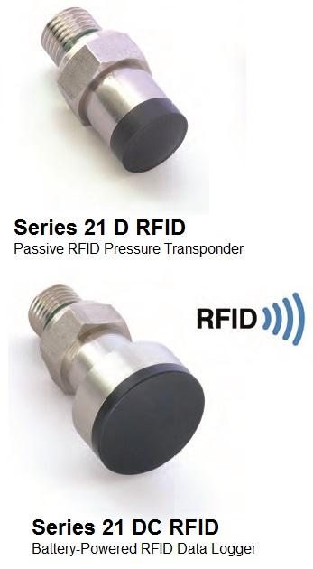 Series 21 D(C) RFID Pressure Sensors