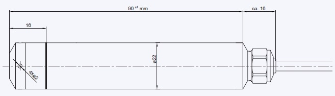 Series 36XW Technical Drawing
