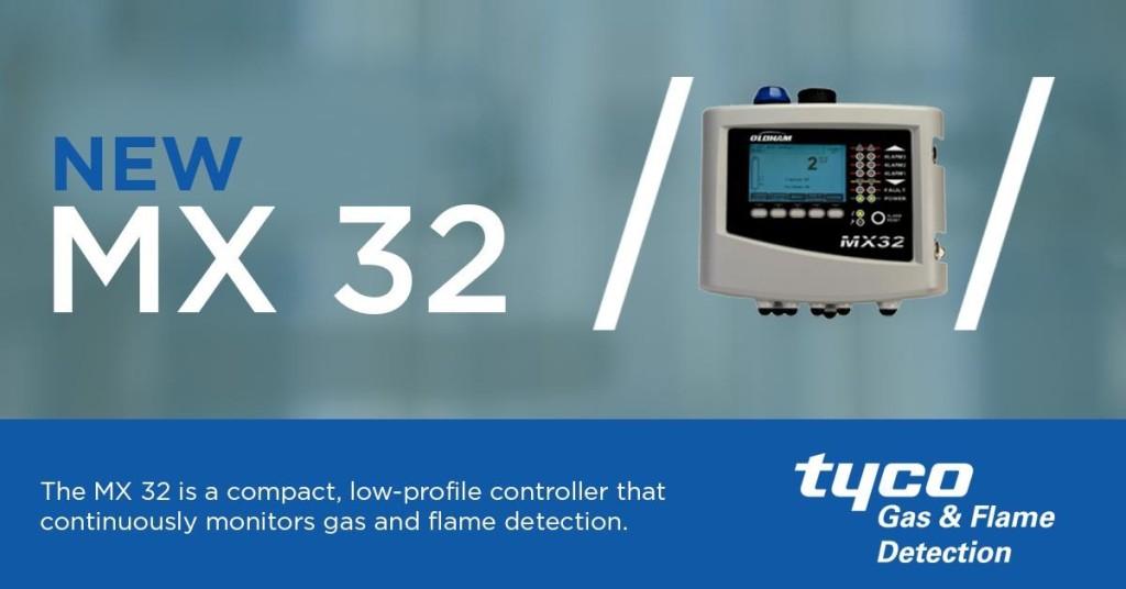 MX32 Gas Detection Controller