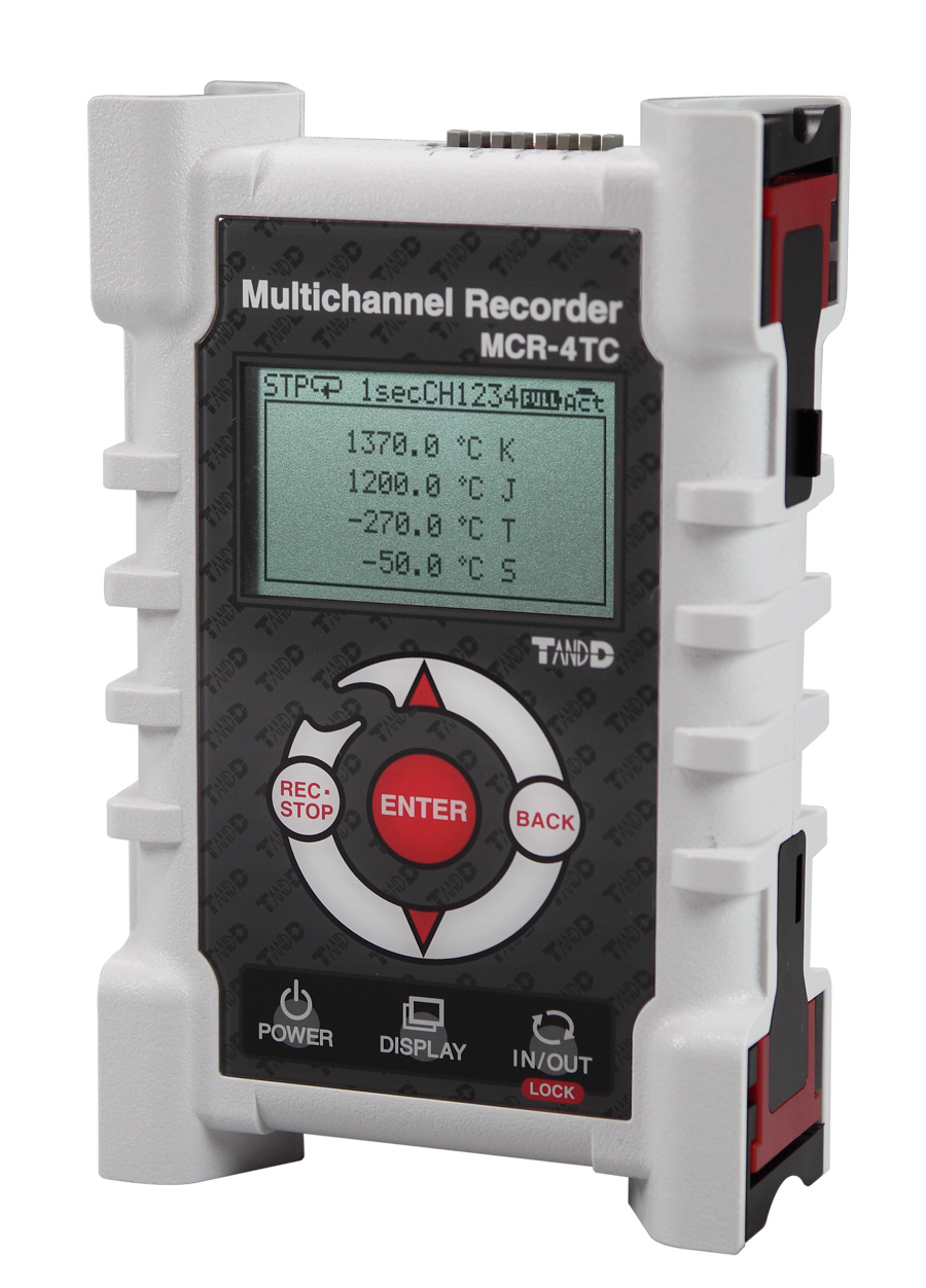 MCR 4 Channel Recorder for Voltage and Thermocouples